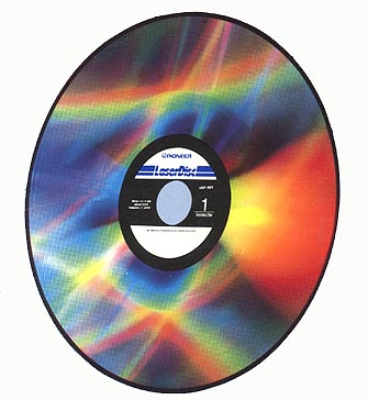 LaserVision Format Reflective Optical VideoDisc