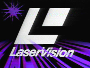 LaserVision video logo