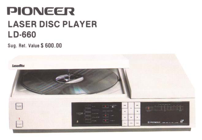 LD-660 LaserDisc Player