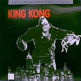 King Kong re-issue black jacket