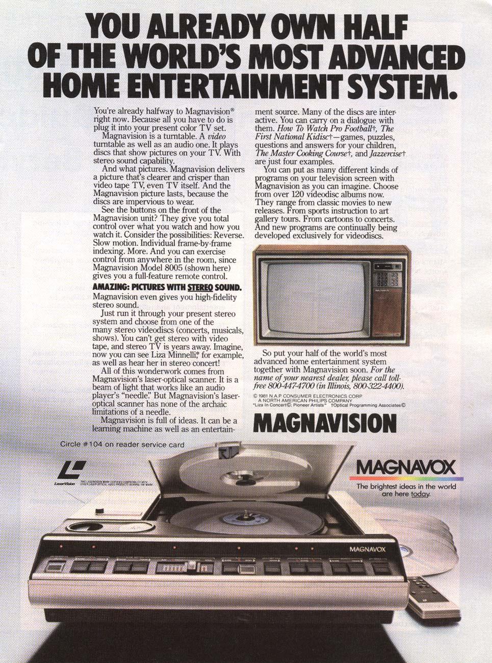 1982 Magnavision Ad