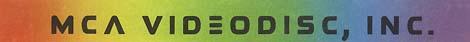 MCA VIDEODISC, INC. logo