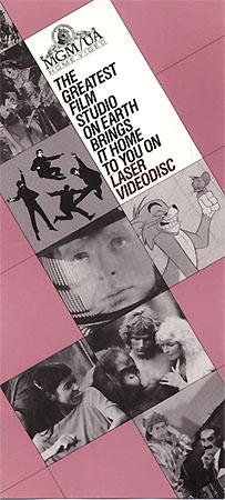 MGM/UA 1983                                     Catalog