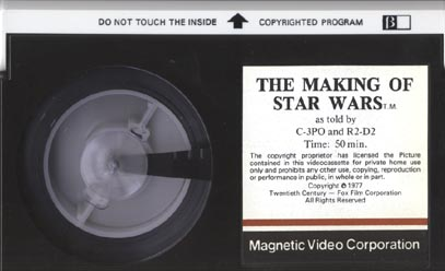 Magnetic Video Beta videocassette