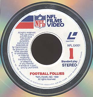 NFL Films disc label